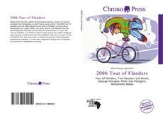 Portada del libro de 2006 Tour of Flanders