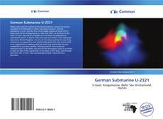 Buchcover von German Submarine U-2321