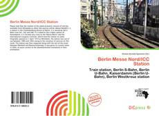 Bookcover of Berlin Messe Nord/ICC Station