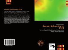 Bookcover of German Submarine U-2324