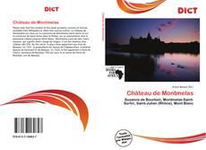 Buchcover von Château de Montmelas