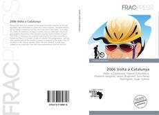 Bookcover of 2006 Volta a Catalunya