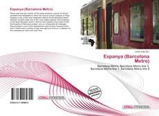 Bookcover of Espanya (Barcelona Metro)