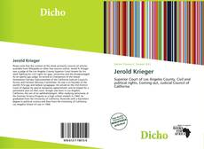 Bookcover of Jerold Krieger