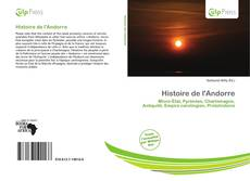 Bookcover of Histoire de l'Andorre