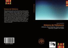 Bookcover of Histoire de l'Athéisme