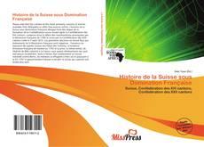 Capa do livro de Histoire de la Suisse sous Domination Française
