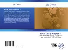Couverture de Hiram Emory Widener, Jr.