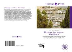 Couverture de Histoire des Alpes-Maritimes
