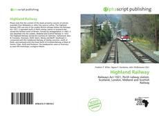 Highland Railway kitap kapağı