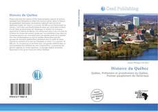 Обложка Histoire du Québec