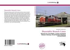 Обложка Dunstable Branch Lines