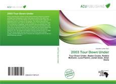 Portada del libro de 2003 Tour Down Under