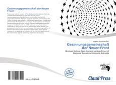 Portada del libro de Gesinnungsgemeinschaft der Neuen Front
