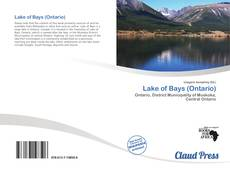 Bookcover of Lake of Bays (Ontario)