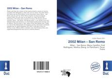 Bookcover of 2002 Milan – San Remo