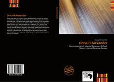 Bookcover of Donald Alexander