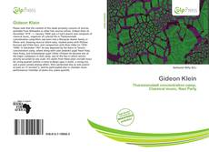 Bookcover of Gideon Klein