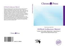 Giffard LeQuesne Martel的封面