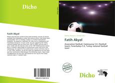 Bookcover of Fatih Akyel