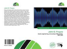 Capa do livro de John G. Frayne