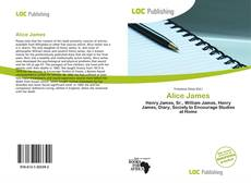 Bookcover of Alice James