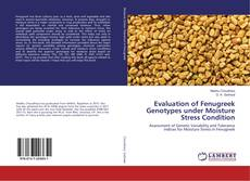 Bookcover of Evaluation of Fenugreek Genotypes under Moisture Stress Condition