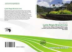 Portada del libro de Lyme Regis Branch Line
