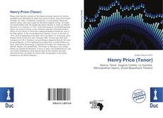 Bookcover of Henry Price (Tenor)