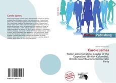 Couverture de Carole James
