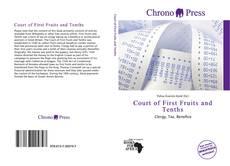 Capa do livro de Court of First Fruits and Tenths