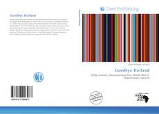 Bookcover of Goodbye Holland