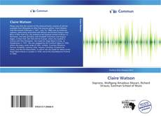 Bookcover of Claire Watson