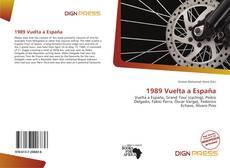 Bookcover of 1989 Vuelta a España