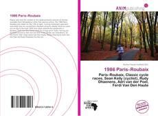 Bookcover of 1986 Paris–Roubaix