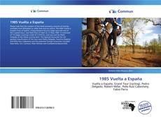 Buchcover von 1985 Vuelta a España