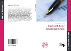 Bookcover of Maurice B. Foley