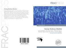 Couverture de Georg Andreas Böckler
