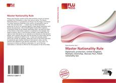Bookcover of Master Nationality Rule