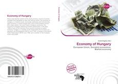 Capa do livro de Economy of Hungary