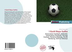 Bookcover of I Gusti Bayu Sutha