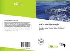 Bookcover of Hans Albert Einstein