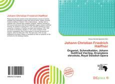 Johann Christian Friedrich Hæffner的封面