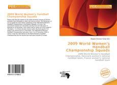 Portada del libro de 2009 World Women's Handball Championship Squads