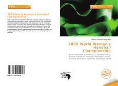 Portada del libro de 2009 World Women's Handball Championship