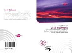 Buchcover von Louis Gathmann