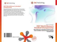 Portada del libro de 2007 World Women's Handball Championship
