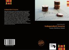 Bookcover of Independent Income