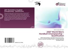 Portada del libro de 2007 World Men's Handball Championship – Qualification