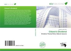 Citizen's Dividend的封面